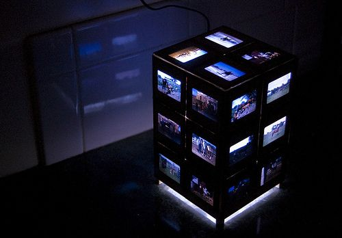 Photo Lamp - Gonna tweak this a little and have a great xmas gift for grandma!