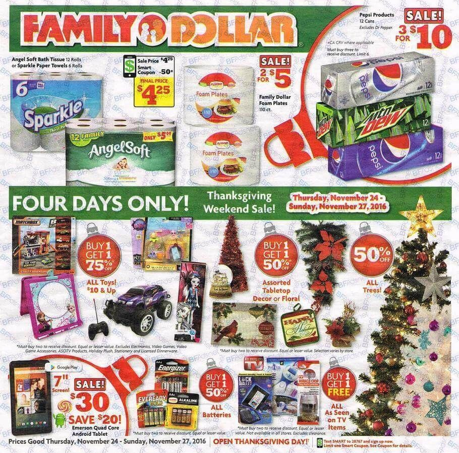 Family Dollar Black Friday 2016 Ad http//www.olcatalog