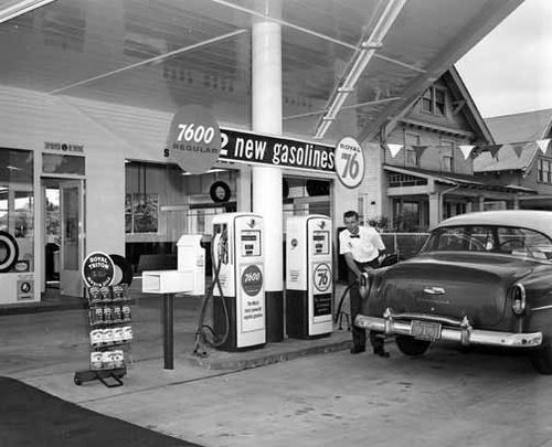 76 Gas Station 1950 S Full Service Gas Station Old Gas Stations Gas Station