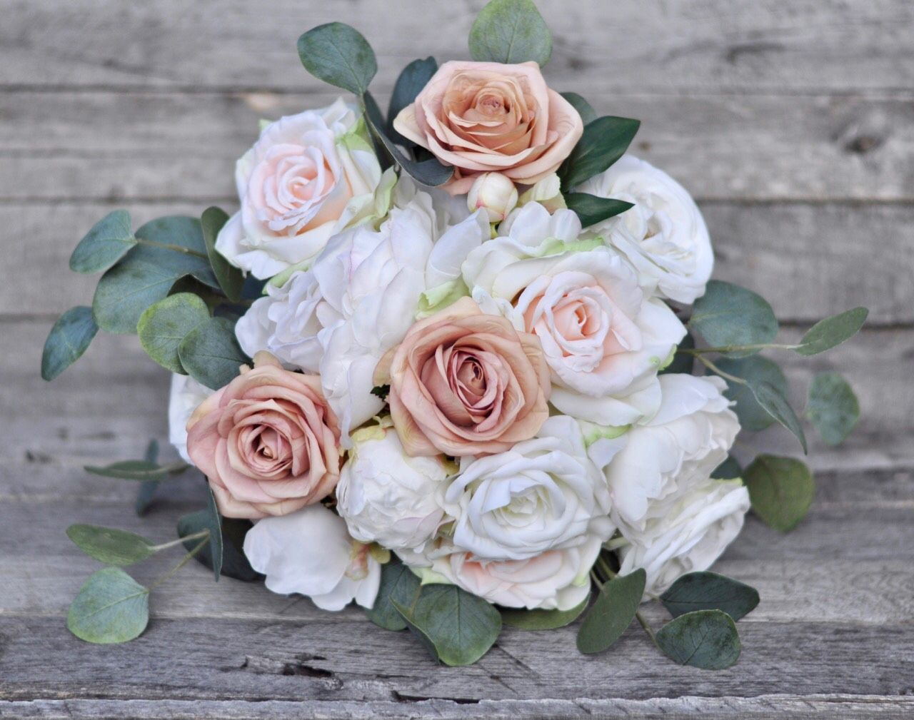 Blush Rose Bouquets Are Always In Season Forever Wedding Flowers
