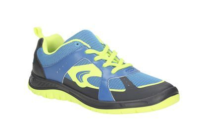 Boys Sports Shoes - Bolt Aeon Snr in Blue Combi from Clarks shoes