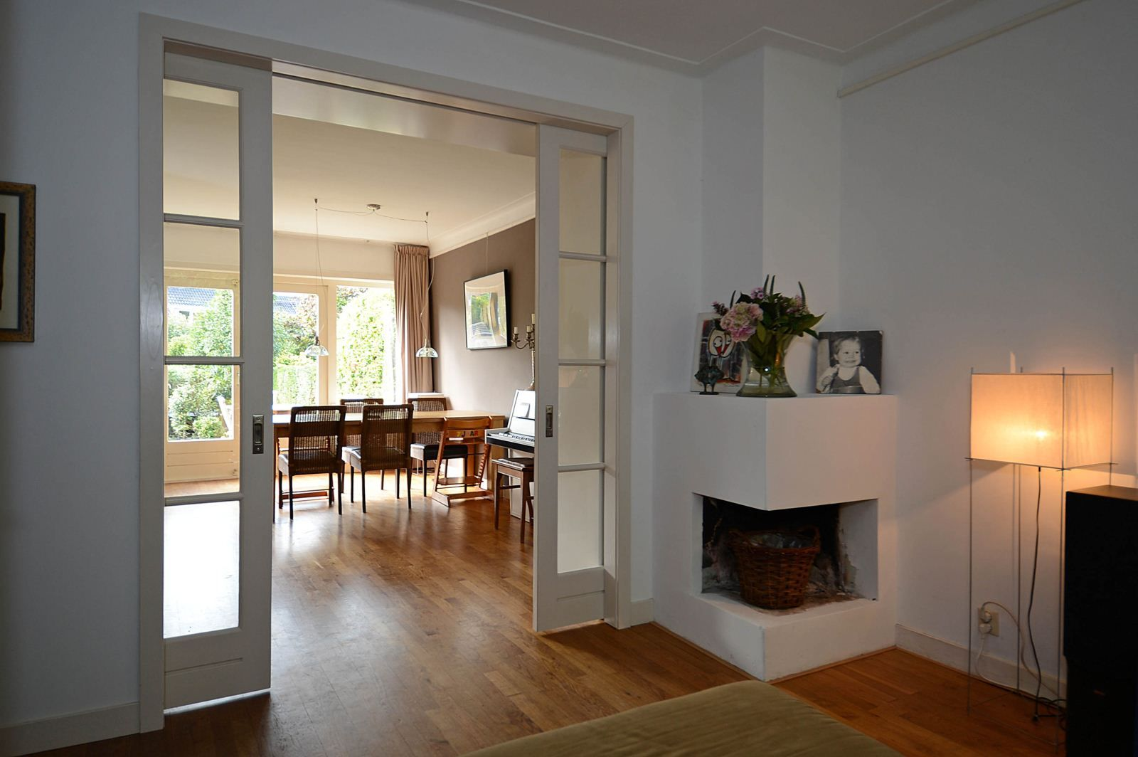 Afbeeldingsresultaat voor en suite open haard modern wonen pinterest house - Deco moderne open haard ...