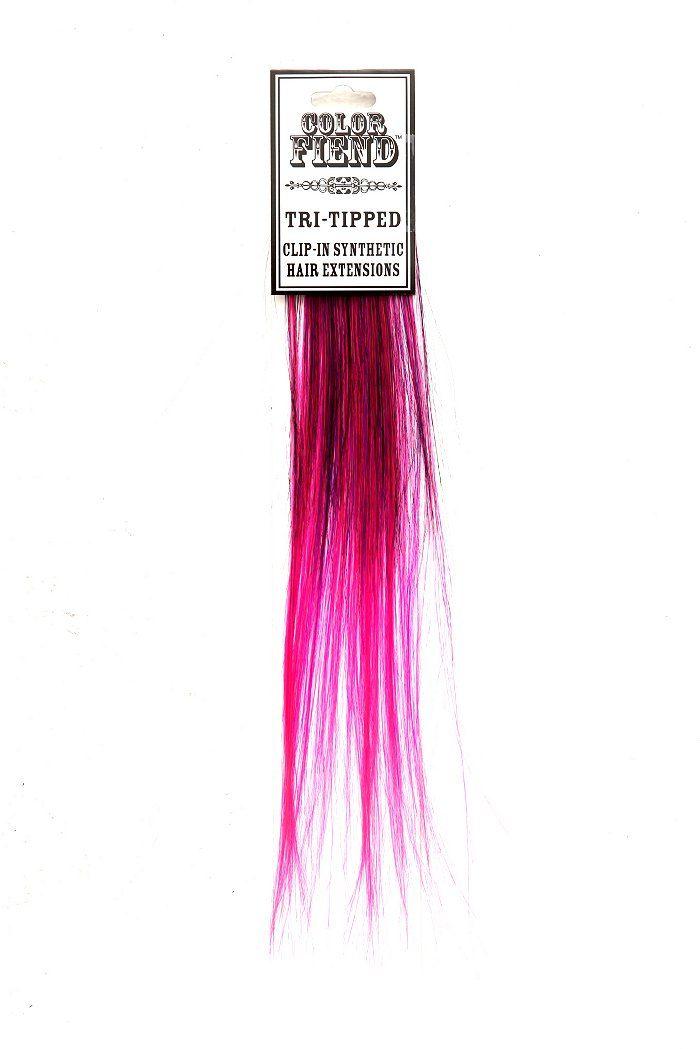 Color fiend black purple pink tri tipped hair extension 2 pack color fiend black purple pink tri tipped hair extension 2 pack pmusecretfo Image collections