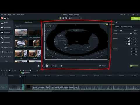 Vídeo Aula Camtasia Studio 9. Dicas de edição