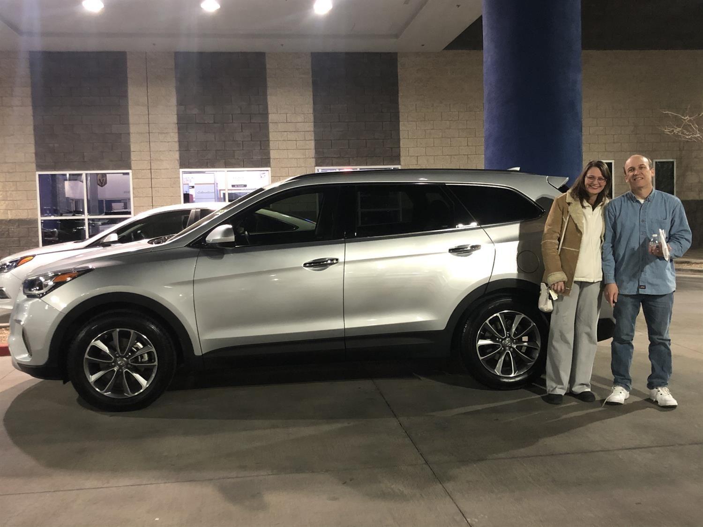 Awesome Congratulations To Paul And Iuliana On Your New 2017 Hyundai Santa Fe Thank You Again Henderson Hyu New Hyundai Hyundai Dealership Hyundai Santa Fe