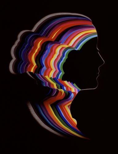 light color sound rainbow bun designers stories pinterest