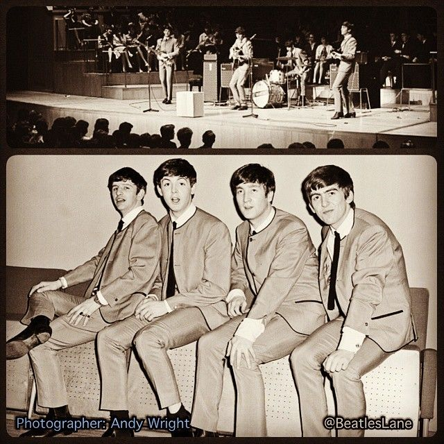 52 years ago today, The Beatles performed at Fairfield Halls in Croydon, South London. These couple ...