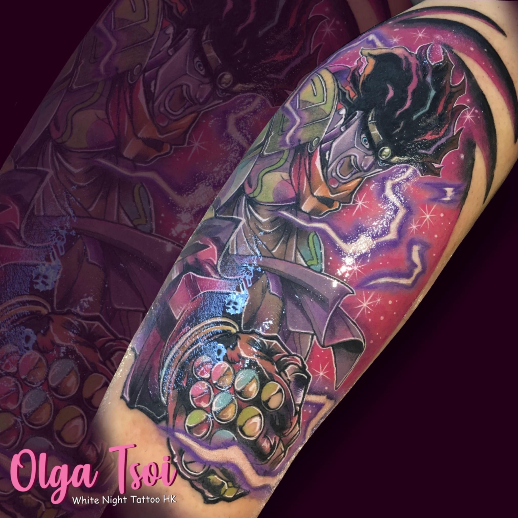 Stand Arrow Tattoo Jojo – After finishing jojo's bizarre adventure:
