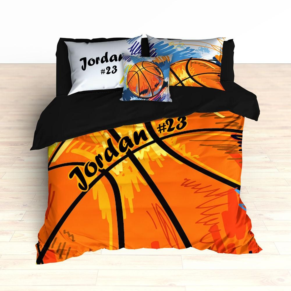 Basketball Bedding Art