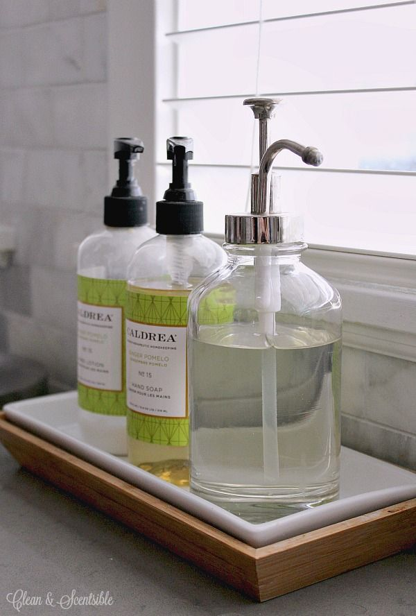 attractive Kitchen Dish Soap #1: I Need Trays To Contain All The Stuff That Goes Near The Sink(s .