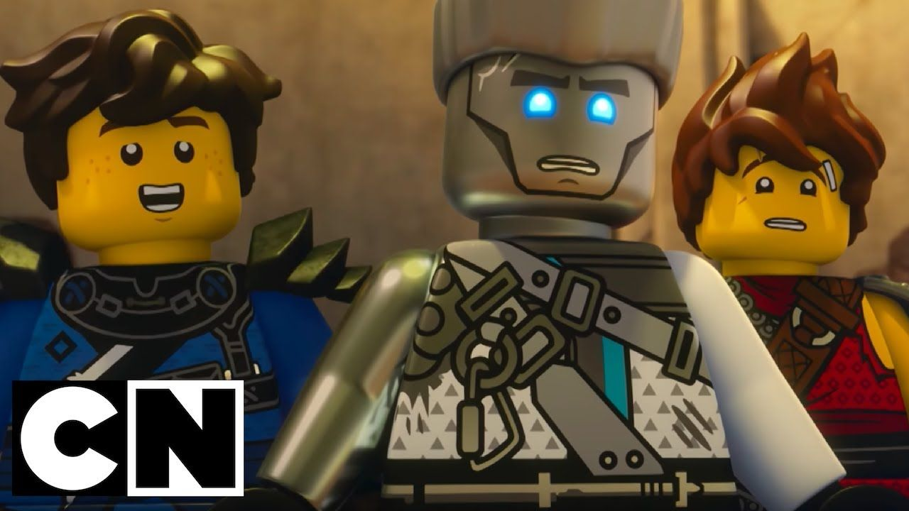 Lego Ninjago Masters Of Spinjitzu Iron Stone Cartoon Network