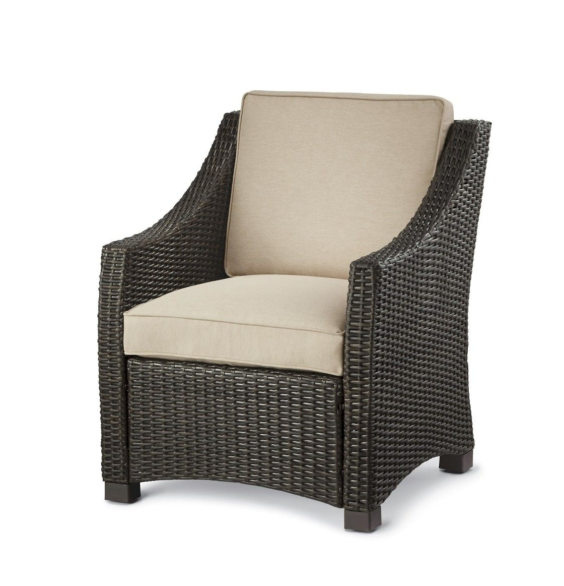 Threshold Belvedere Wicker Patio Club Chair Target patio