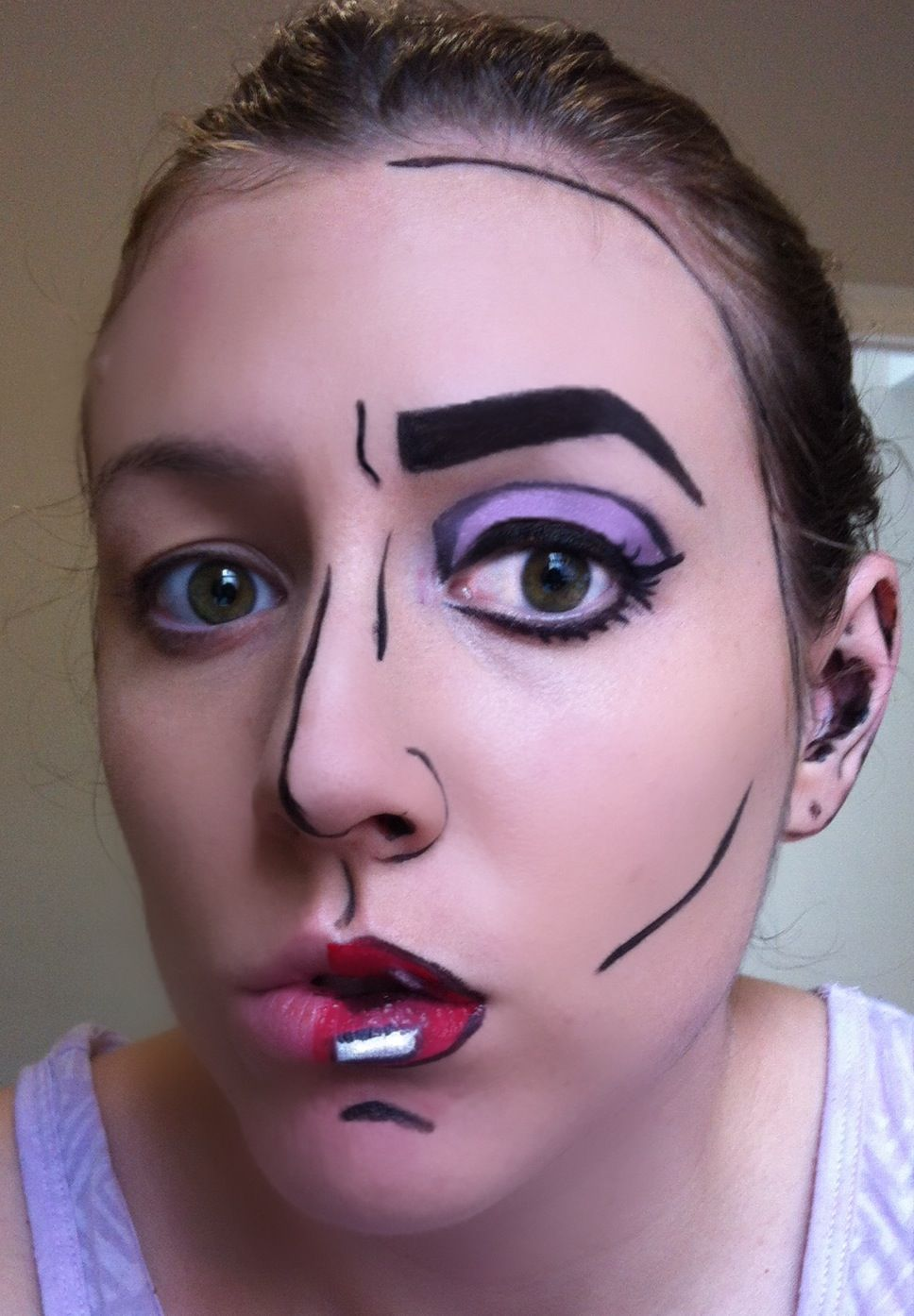 cartoon makeup | Beauty | Pinterest | Cartoon, Cartoon makeup and ...