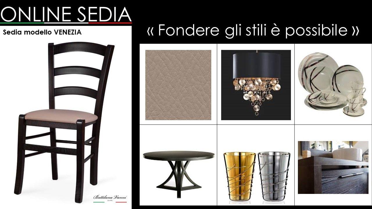 Sedie In Ecopelle Colorate.Sedia In Legno Venezia Sedia Legno Sedia Cucina E Sedie