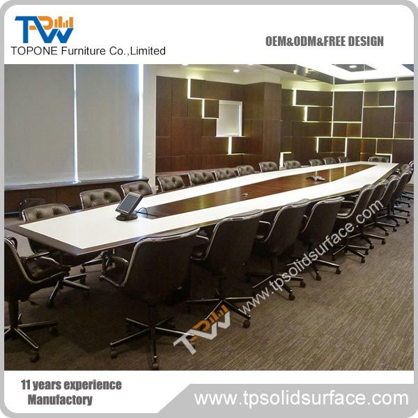 High End Factory Price Artificial Marble Conference Table For Sale - Marble conference table for sale