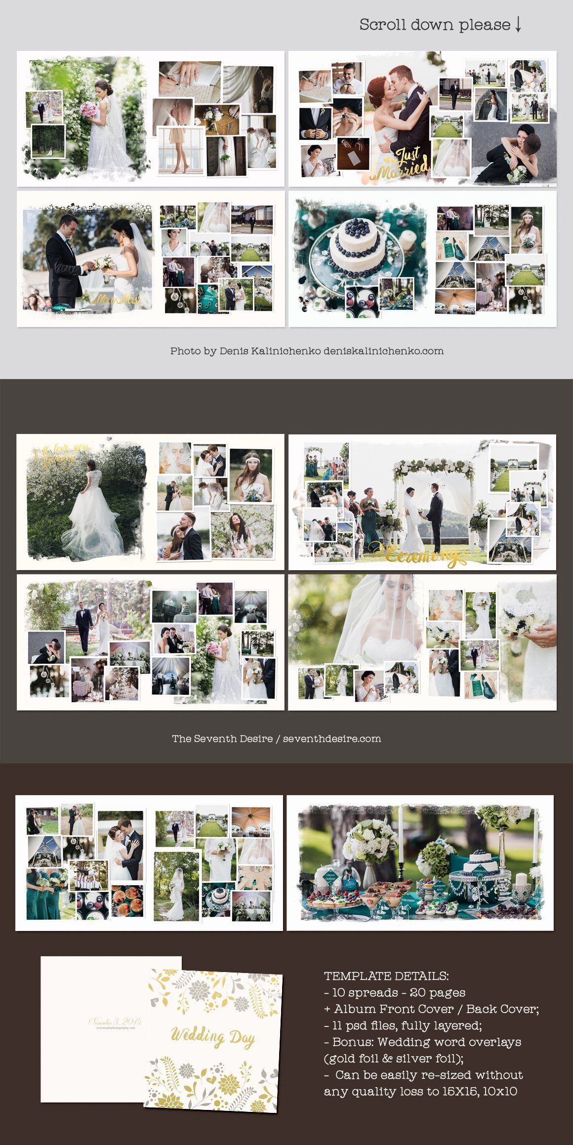 Wedding Photobook Template Wedding Album Layout Wedding Photo Album Layout Wedding Photo Book Layout