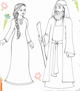 Beautiful Ruth And Boaz Coloring Pages Photos - New Coloring Pages ...