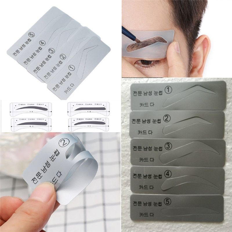 Universe Of Goods Buy 5 Styles Template Eyebrow Stencil Drawing