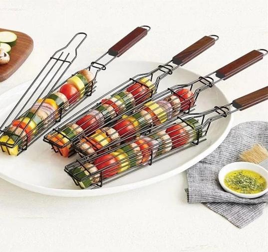 Reusable Kebab BBQ Basket