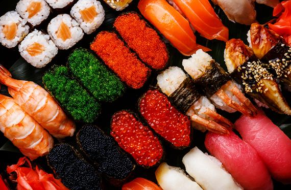 Japanese Steakhouse In Rochester Mn Fuji Sushi Restaurant Types Of Sushi Sushi Sushi Set