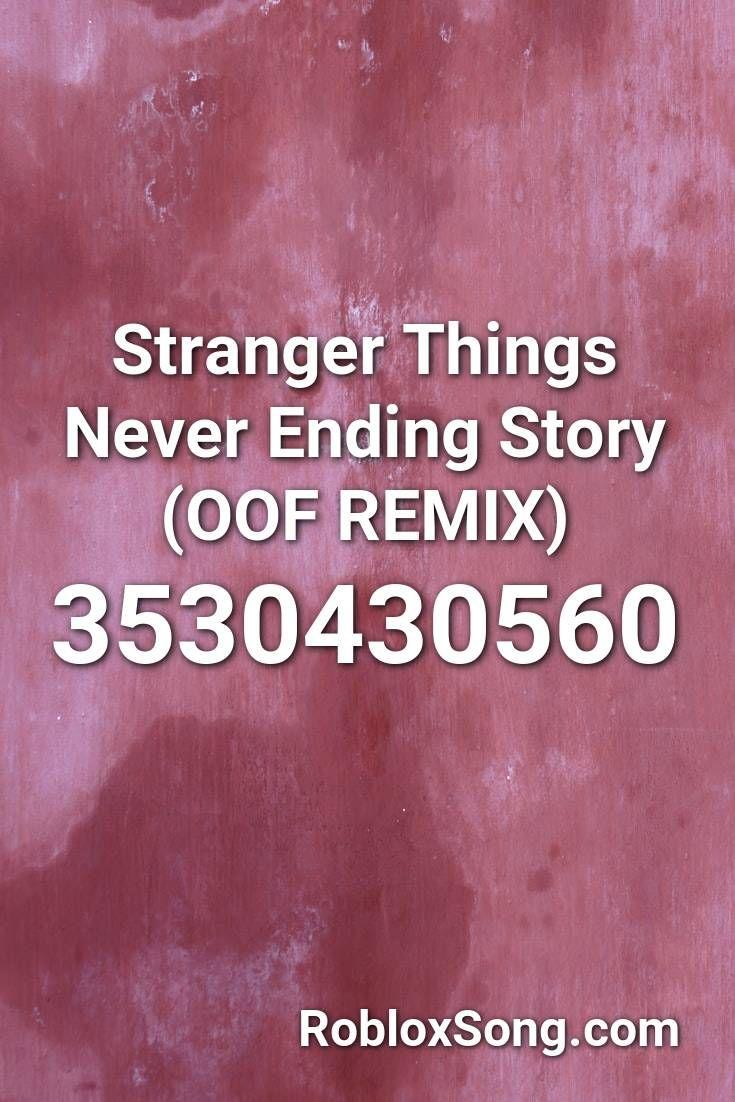stranger things roblox id
