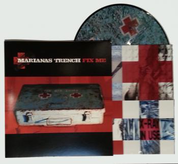 Marianas Trench Fix Me Vinyl 25 Marianas Trench Vinyl Trench
