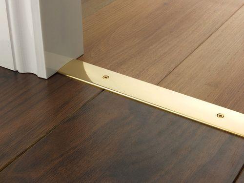 Best Premier Trim Cover 38Mm In Brass Flooring Doorbar 640 x 480