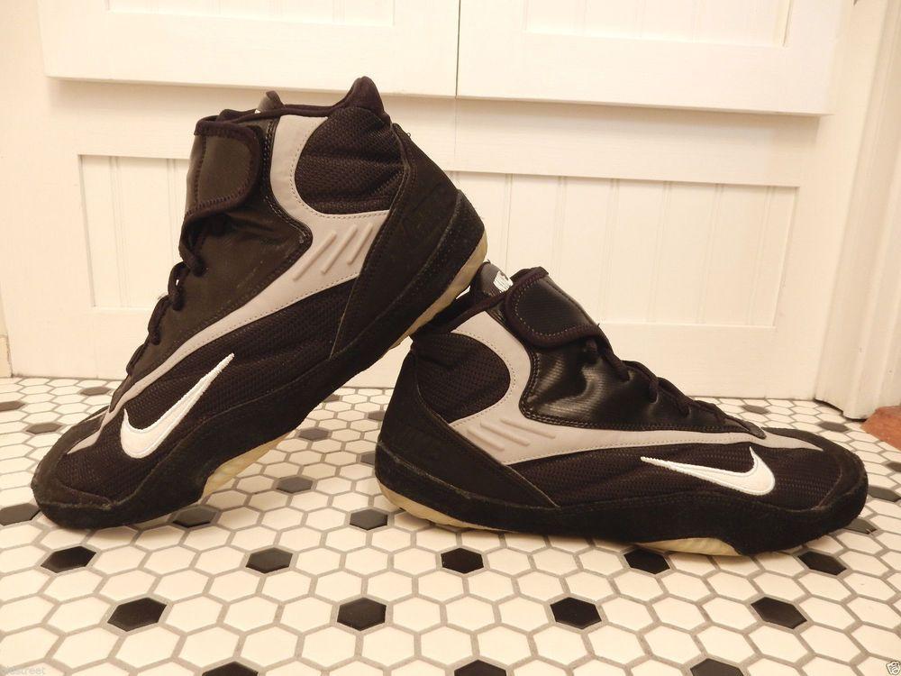 sale retailer a57a3 d0d4e Rare Nike Takedown 3 TD3 Black Wrestling Shoes Sz 12 MMA  Nike  Takedown3