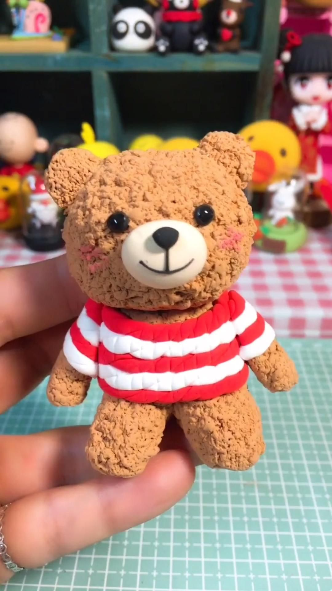 Photo of DIY Clay Crafts for Fun – How to Make a Bear in a Simple Way