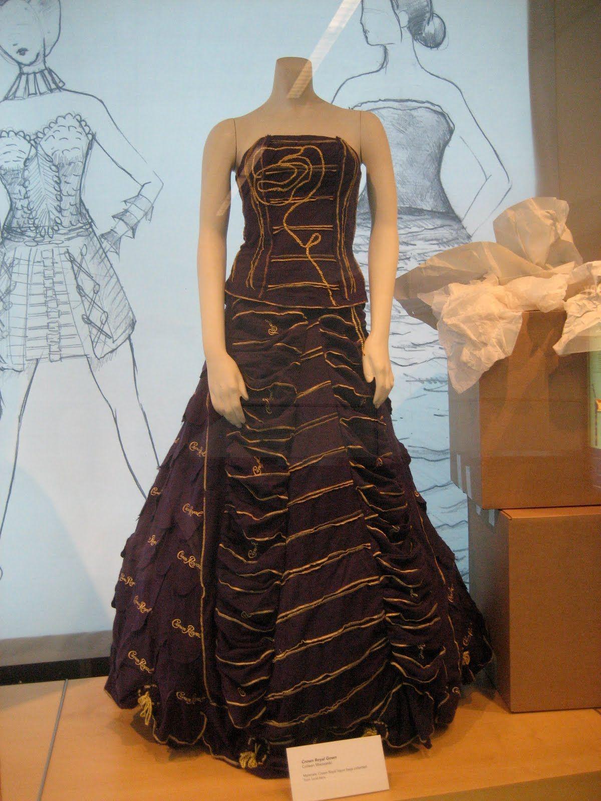 6cc023905c Crown Royal Bag Dress - Potentially Abby Dawson s Prom dress ...