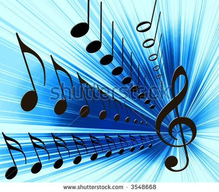 Music Clipart Music Notes Background Stock Photo 3548668 Shutterstock Music Notes Background Music Artwork Music Painting