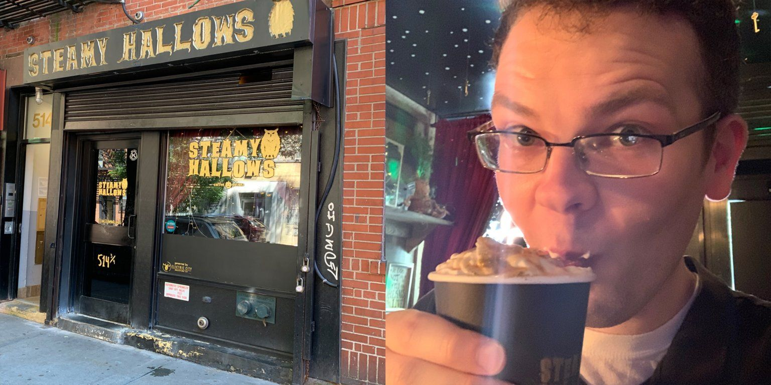 Insider Got The Chance To Tour Steamy Hallows And Try Two Of Its Most Popular And Instagram Worthy Drinks Instagram Worthy Cafe New York Steamy