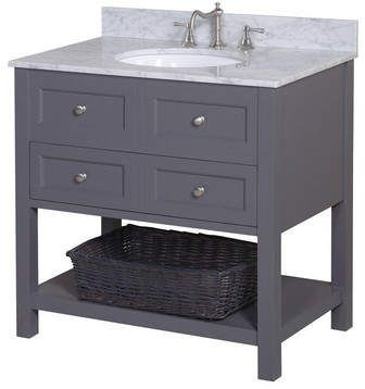 Kbc New Yorker 36 Single Bathroom Vanity Set Single Bathroom