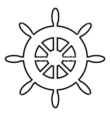 Steering Wheel Icon Vector Image On Ursinho Marinheiro Em Eva