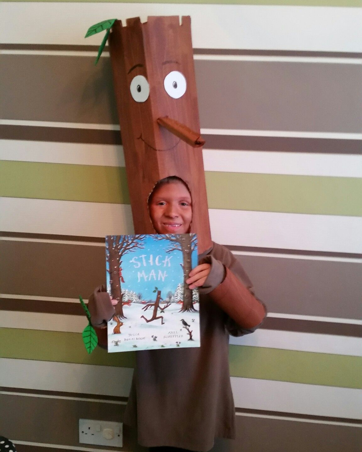Stick Man costume for World Book Day.  sc 1 st  Pinterest & Stick Man costume for World Book Day. | Book parade costume ...