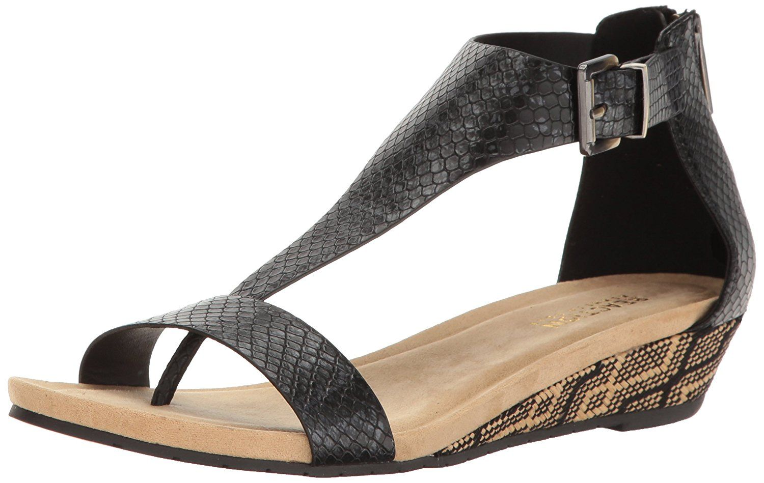 f4d1eea6d8b Kenneth Cole REACTION Women s Great Gal Wedge Sandal    Click image to  review more details