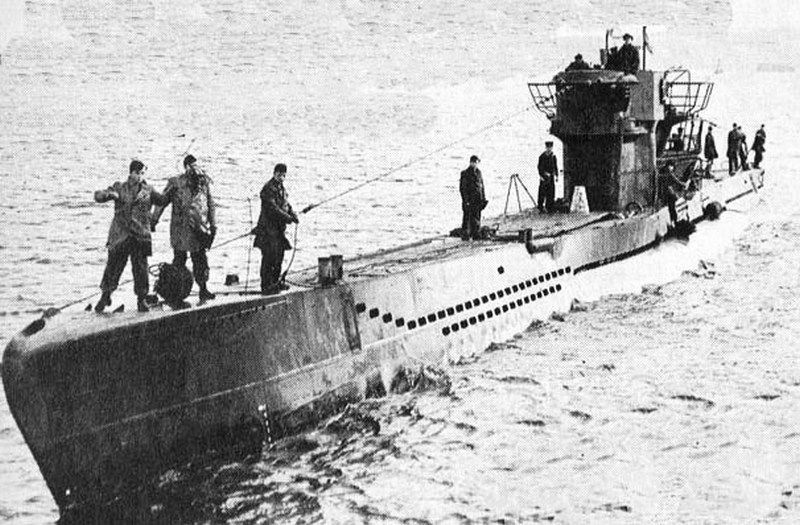 U-1206 - The Only Sub to be Sunk By a Dump on the Toilet ...
