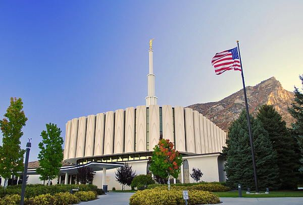 Provo Utah LDS Temple Photograph  We love Temples at: www.MormonFavorites.com