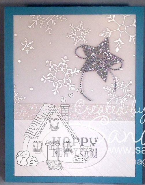 Holiday Specialty Foil Vellum, Six Sayings, Stampin\'Up!, Happy New ...
