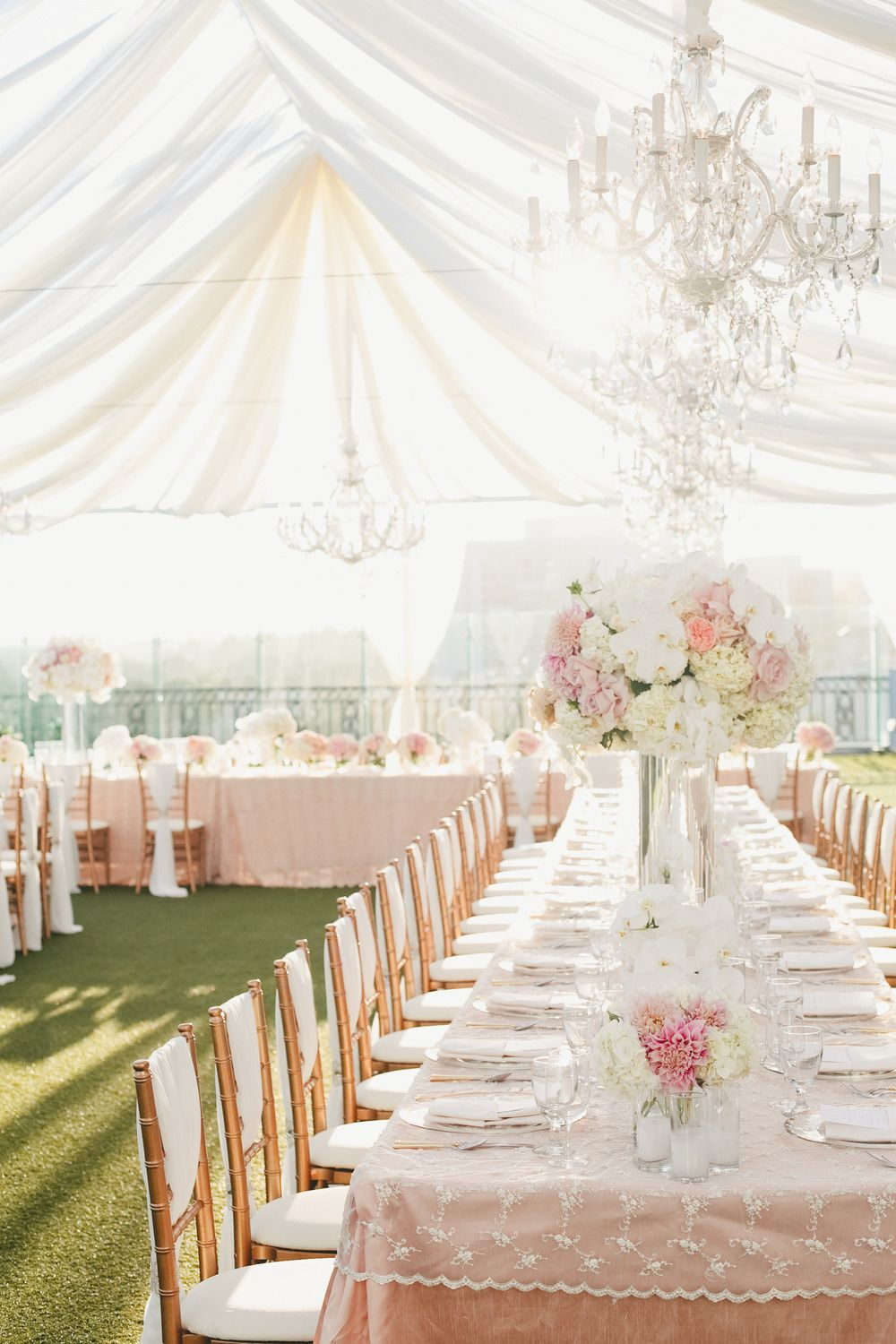 Pink and Gold Wedding at The London West Hollywood | Pinterest ...
