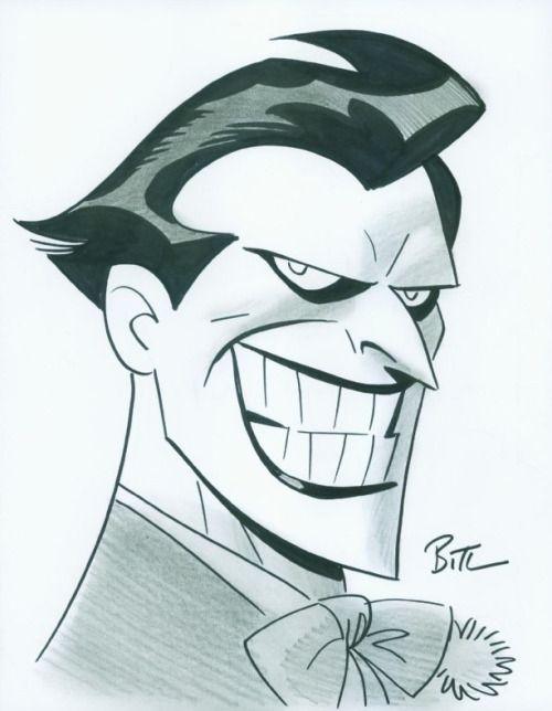 The Joker - Bruce Timm   the jo jo joker   Pinterest   Cómics ...