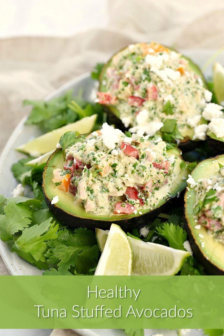 Healthy Tuna Stuffed Avocado Healthy Tuna Stuffed Avocado is the perfect light meal loaded with sou
