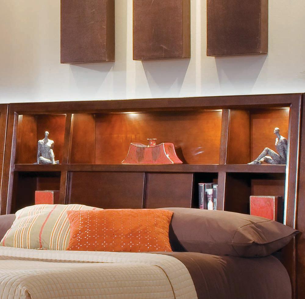 Tribecca Full/Queen Bookcase Headboard by American Drew