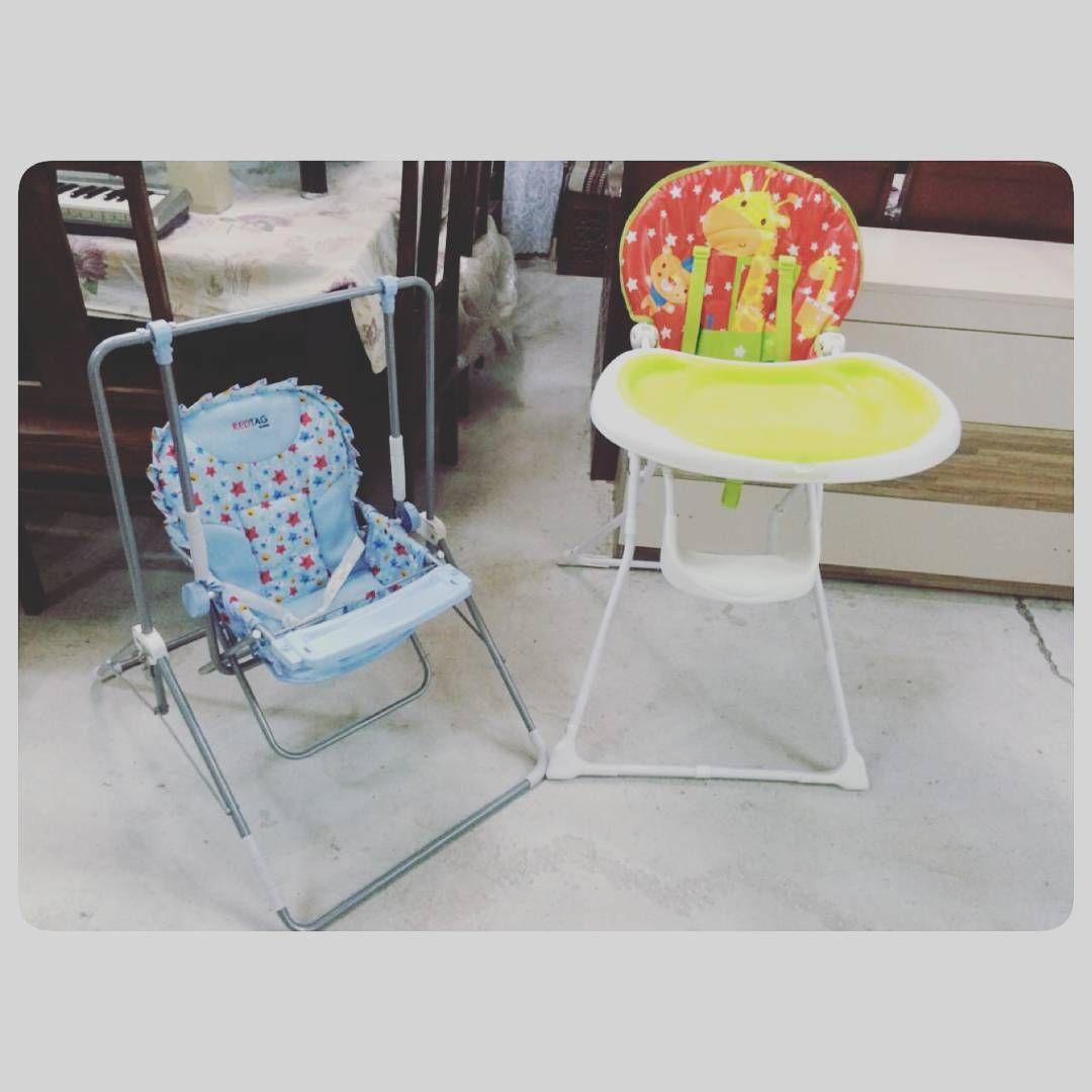 For Sale Baby Chair Price 12 Bd Swing Baby Price 11 Bd للبيع كرسي اطفال للاكل بحالة ممتازة السعر 12 Bd ارجو Saucer Chairs Chair High Chair