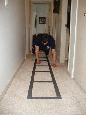 You Can Make Your Own Speed Ladder At Home For Little To Nothing All You Have