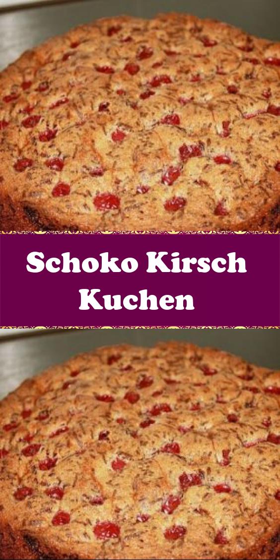 Schoko Kirsch Kuchen In 2020 Schoko Kirsch Kuchen Lebensmittel Essen Kirschen