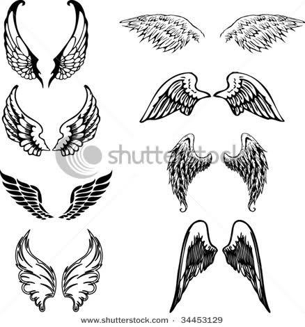Vleugel Tattoo Rug Tatuajes De Alas De Angel Alas De Angel Tatuajes De Alas