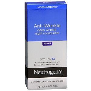 Neutrogena Ageless Intensives Deep Wrinkle Moisture Night Best Retinol Cream Night Moisturizer Best Anti Aging Creams