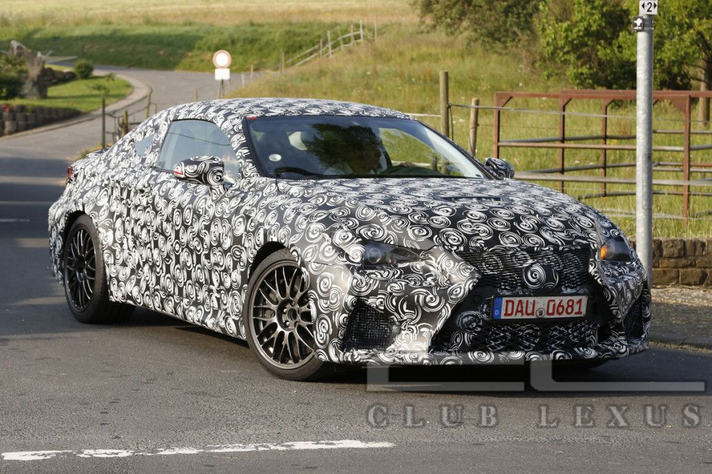 Camouflage Paint Schemes Help Keep New #Lexus Vehicles Hidden From Prying  Eyes