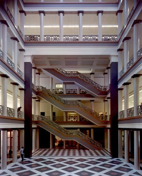 Philip Johnson 1979 Laureate University Of Houston Texas 1985